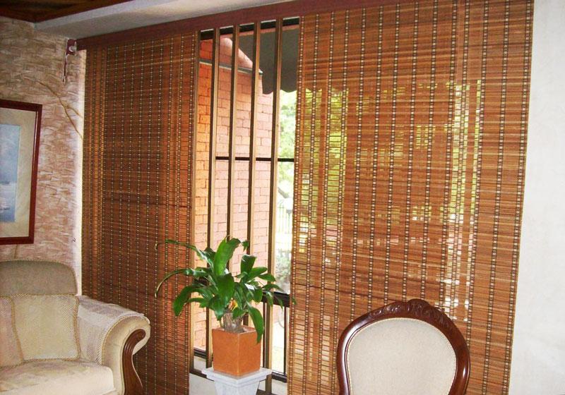 Persianas de madera enrollables persianas de madera with - Persianas enrollables de madera ...